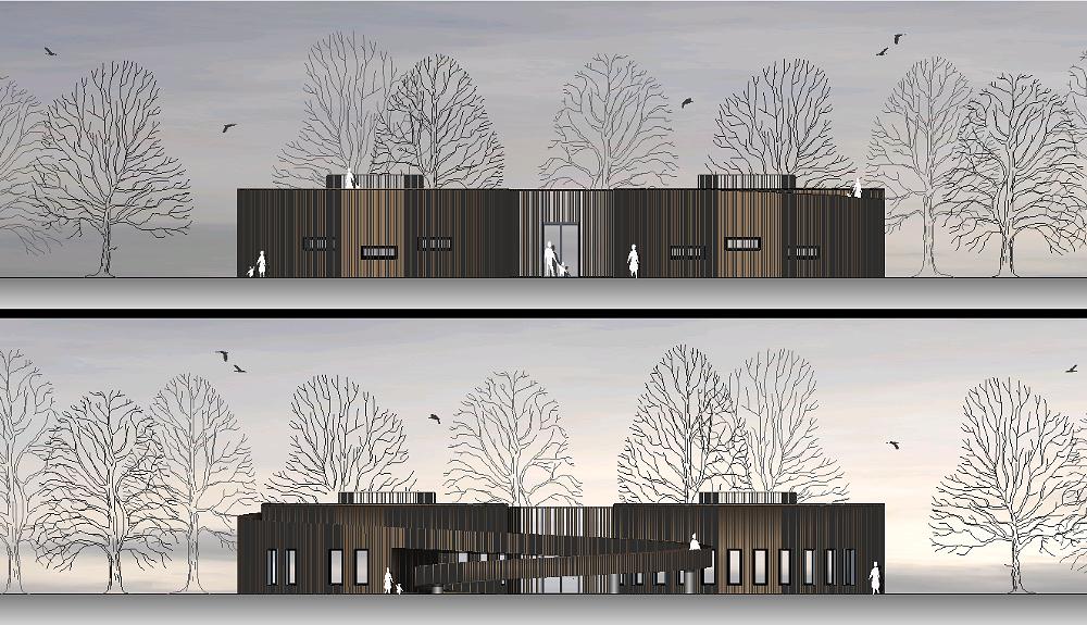 Projektbild 3, Besucherzentrum     Wolgast