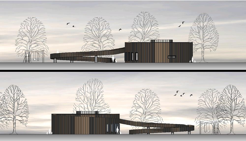Projektbild 4, Besucherzentrum     Wolgast