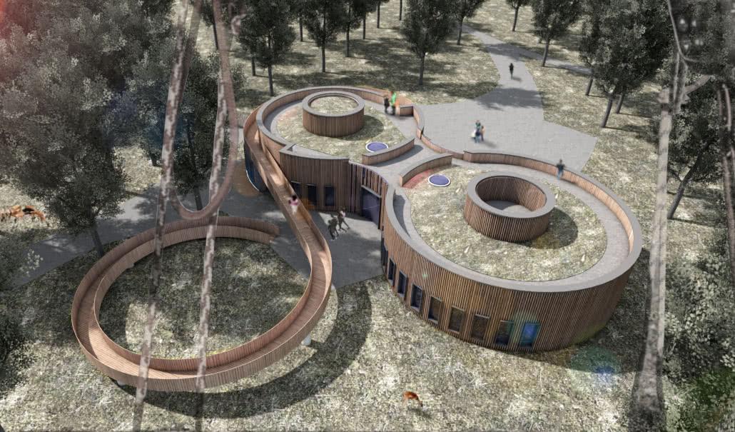 Projektbild 2, Besucherzentrum     Wolgast